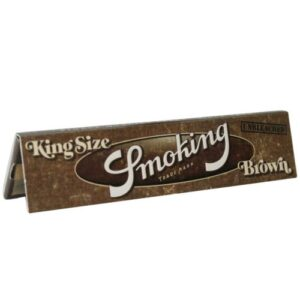 SMOKING BROWN KING SIZE PER STUK