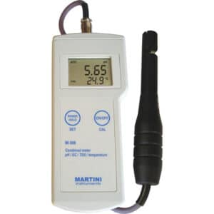 MILWAUKEE MARTINI MI806 DRAAGBARE PROFESSIONELE PH / EC / TDS / TEMP METER